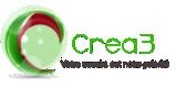Crea3.com Logo